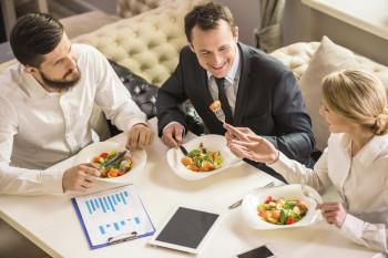 Corporate Wellness Business Meeting